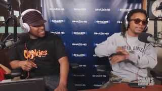 Lupe Fiasco - 5 Fingers of Death Freestyle [Sway in the Morning]