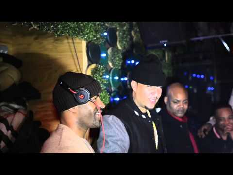 DJClue Birthday party FrenchMontana Myfabolouslife Raw Footage 1 08 2013 HD