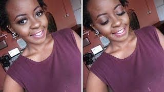 Everyday Natural Glam Makeup Tutorial | OmogeMuRa