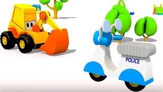 Excavadoras - Carritos para niños - Moto de policía - La Excavadora Max
