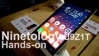 Hands-on: Ninetology U9Z1T with 4G LTE
