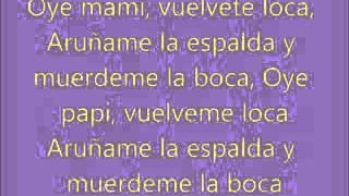 Shakira Rabiosa con letra (version español)