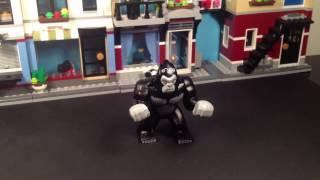 Lego Flash: Gorilla Grodd showdown