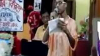 Bidhir Badhon Katbe Tumi..Shamik Chanda