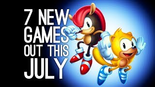 7 New Games Out in July 2018 for PS4, Xbox One, PC, Switch