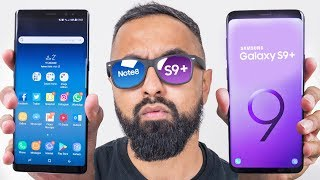 Samsung Galaxy S9 Plus vs Galaxy Note 8
