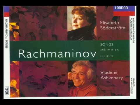 Rachmaninov Lieder Twelve songs Op 14 (10-11-12)