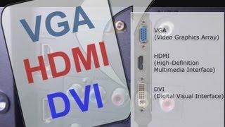 Que es HDMI, VGA, DVI, sus Cables y Cual es mejor para HDTV Full HD Smart TV LED LCD Plasma