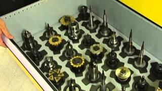 Guhring Tool Dispensing System TM 326 - Open Drawer System