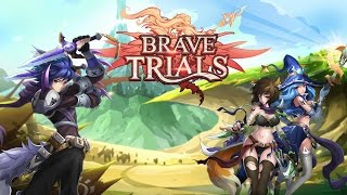 Brave Trials Android Gameplay Trailer HD