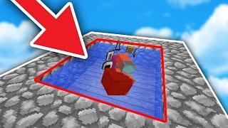 FAKE WATER TRAP! - Minecraft SKYWARS TROLLING