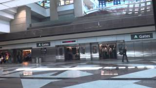 Full Journey on the DEN Transit from all C Gates to Baggage Claim