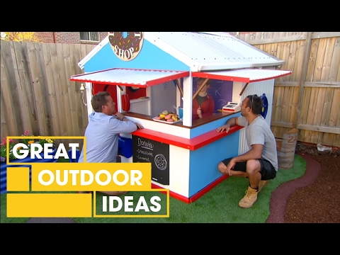 Adam and Jason's cubby house makeover