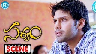 Trisha, Arya Nice Scene - Sarvam Movie