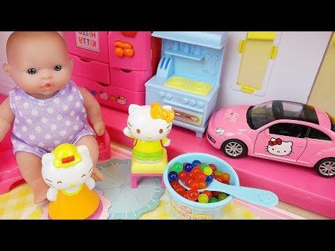 Xxx Mp4 Hello Kitty And Baby Doll House Toys Play 3gp Sex