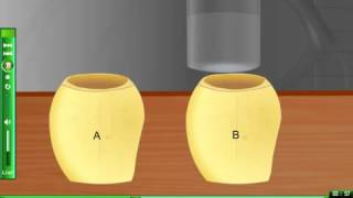 To demonstrate osmosis using potato eLearning science experiment to show osmosis
