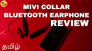 Mivi Collar Neckband Bluetooth Earphone Review in Tamil