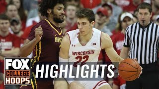 Wisconsin vs Minnesota | HIGHLIGHTS | FOX COLLEGE HOOPS