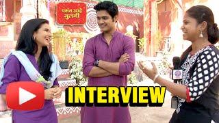 Pasant Aahe Mulgi | Resham & Abhishek Deshmukh Interview | Zee Marathi New Serial