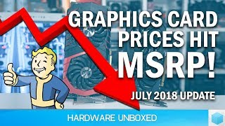 Graphics Card Pricing July Update, Which One is The Best Value Today?