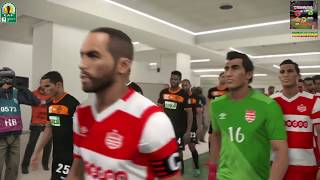 PS4 PES 2018 Gameplay Club Africain vs RSB Berkane [HD]