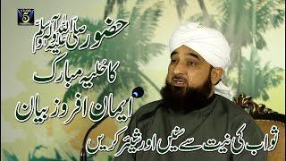 Hazrat Muhammad SAWW ka hulya mubarik- Muhammad Raza Saqib Mustafai|| Record & Released by STUDIO 5.