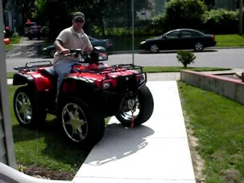 Custom ATV Wheels Awesome 4x4 Honda big rims