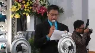 MC (Master of Ceremony) Fajar Febian - Wedding Eka & Rahmat (Pembukaan Akad Nikah)