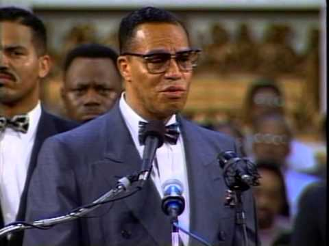 Louis Farrakhan The Pain of Being a Black Man in White America Part 1