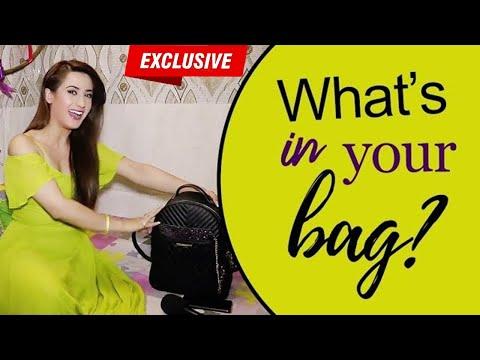 Xxx Mp4 Alisha Panwar Reveals Her Handbag Secrets What 39 S In Your Bag 3gp Sex