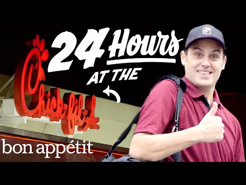 Working 24 Hours Straight at Chick fil A Bon Appetit
