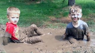 BE READY for a DOSE OF LAUGHING! - Funny Babies and Kids Stuck In The Mud Compilation
