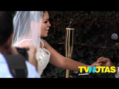 Jorge D Alessio y Marichelo tuvieron emotiva boda
