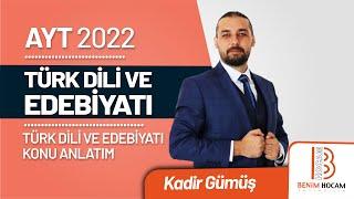 12)Kadir GÜMÜŞ - Halk Edebiyatı Genel Özellikler (AYT-Türk Dili ve Edebiyatı)2020