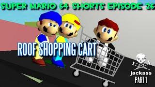 Super Mario 64 Shorts Episode 26: Roof Shopping Cart