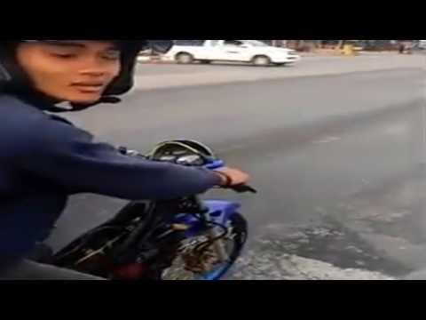Honda Sonic Vs Moge, Moge Kalah Telak ! - Muvi.Top