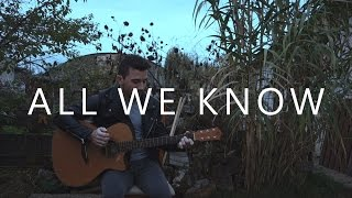 All We Know - The Chainsmokers (fingerstyle guitar cover by Peter Gergely)