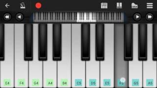 Bolna (Arijit Singh) - Easy Mobile Perfect Piano Tutorial