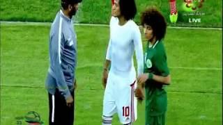 السعودية والامارات..علي النمر افضل لاعب وعناق مع عموري
