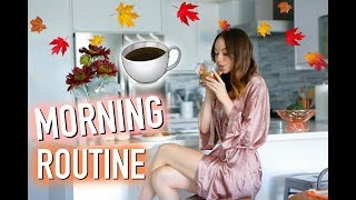Weekend Morning Routine   Fall 2017