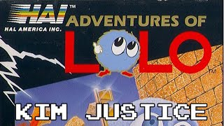 Adventures of Lolo Review - NES - Kim Justice (Kimblitz #6)
