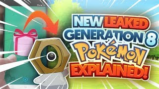NEW LEAKED POKEMON MELTAN ORIGIN AND TYPING EXPLAINED! (THEORY)