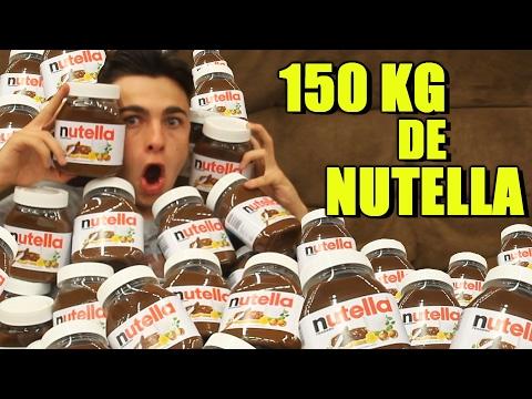 BANHEIRA DE NUTELLA !! (150 KG ULTIMATE)