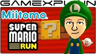 Miitomo x Super Mario Run Tour - Wallpaper, Boo & Goomba Buddies, Peach, Bowser, & Toad Costumes