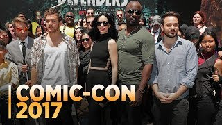 THE DEFENDERS: Cast Interviews at Comic-Con 2017