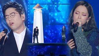 이적·헤이즈, 환상적인 듀엣 무대 '달팽이 2017' @2017 SBS 가요대전 1부 20171225