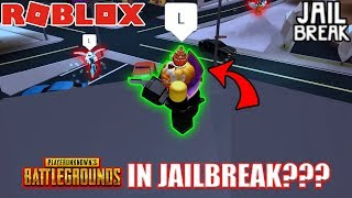 PUBG in Roblox Jailbreak???