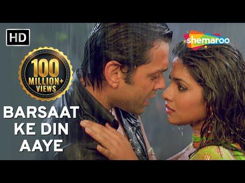 Barsaat Ke Din Aaye | Barsaat (2005) | Bobby Deol | Priyanka Chopra | Filmigaane