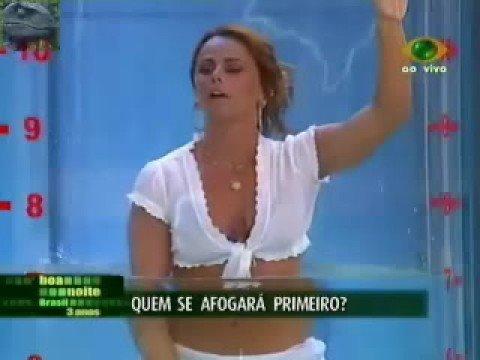 Viviane Araujo Wet Bikini Sex Prova do Tubo
