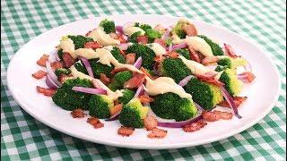 Ensalada de Brócoli | Muy Fácil y Deliciosa